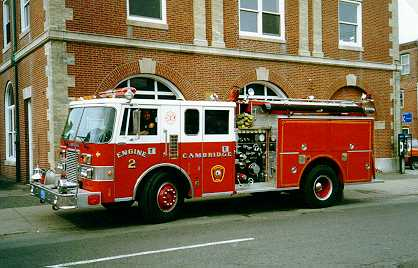 Engine 2's 1989 Pierce Lance pump - 1250 gpm/500 gallon water tank