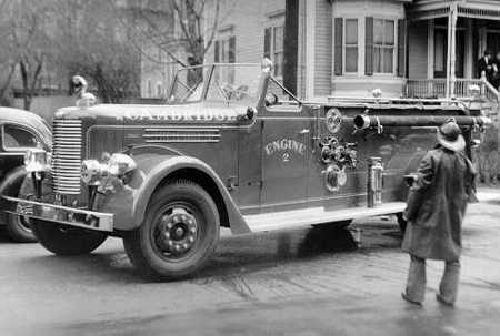 Engine 2's 1951 Pirsch 1000 gpm pump