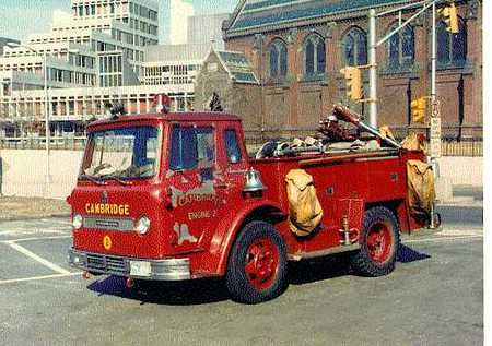 Engine 2's 1966 International/Farrar hose wagon