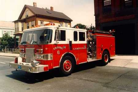 Engine 6's Pump - 1989 Pierce Lance - 1250 gpm/500 gallon water tank