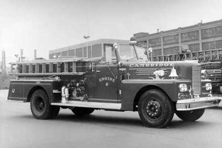 Engine 6 Pump - 1000 gpm Pirsch - delivered in 1962