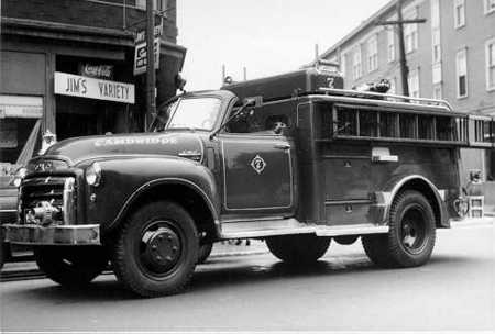 Engine 7's Wagon - 1949 GMC/Robinson - high pressure fog