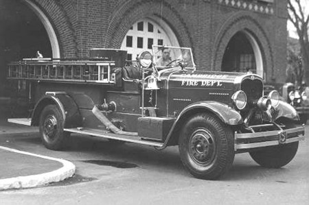 Engine #8 Pump - 1935 Seagrave - 750 gpm