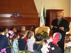 1 of 6: On Wednesday morning, March 7, 2007, first grade students from the Martin Luther King Open School were given a tour of City Hall by Mayor Kenneth E. Reeves. Mayor Reeves presented a