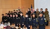 12 of 12: The officers who received promotions at the ceremony.