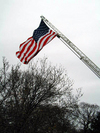 2 of 22: Flag Display Cambridge Fire Department