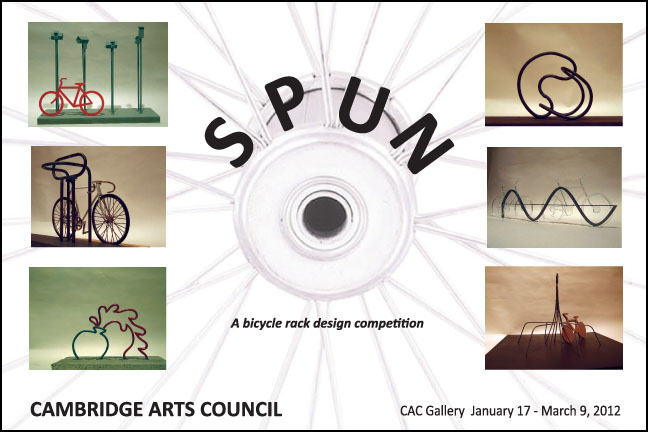 Spun exhibition in the CAC Gallery