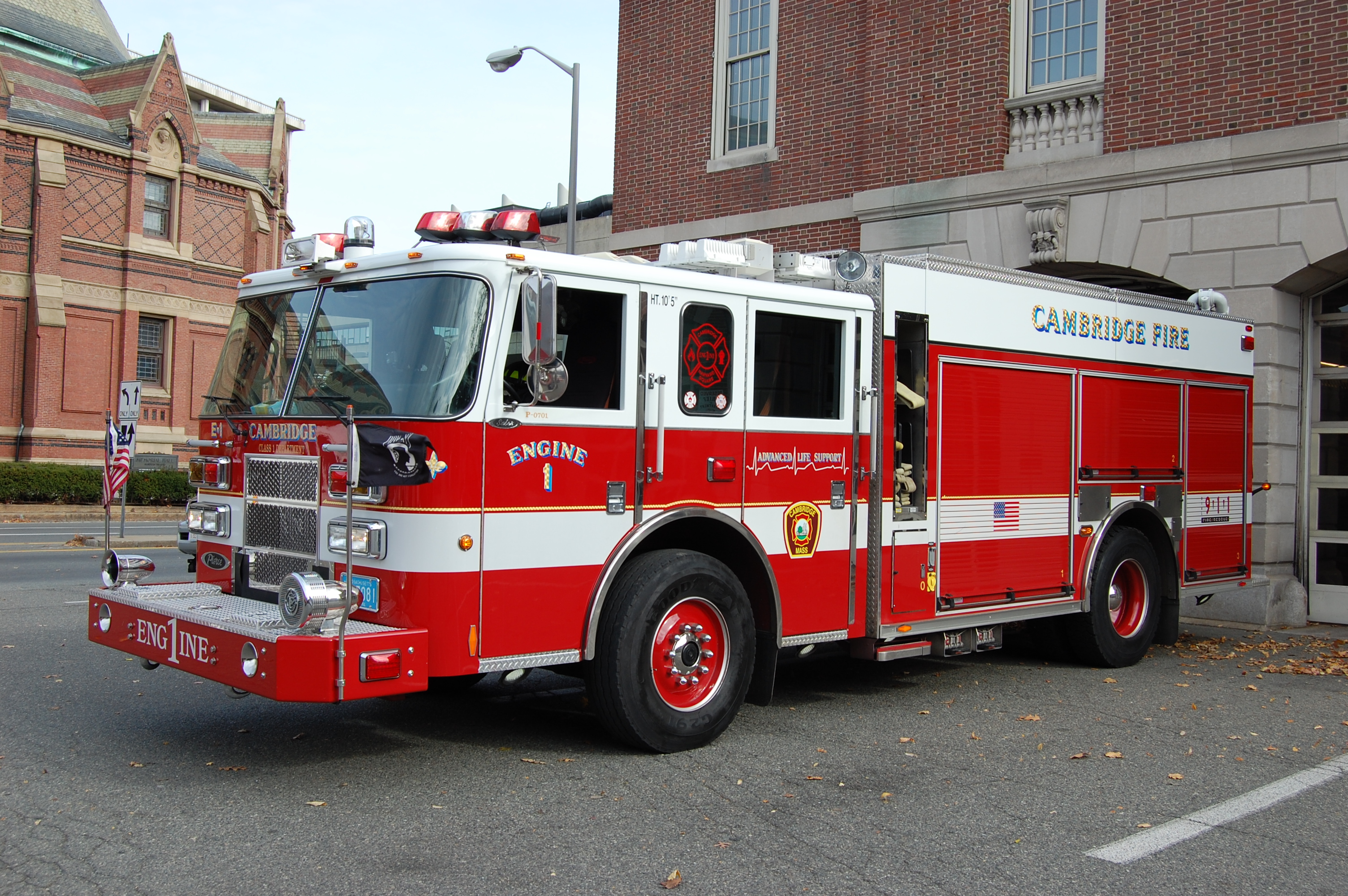 Cambridge Fire Engine 1
